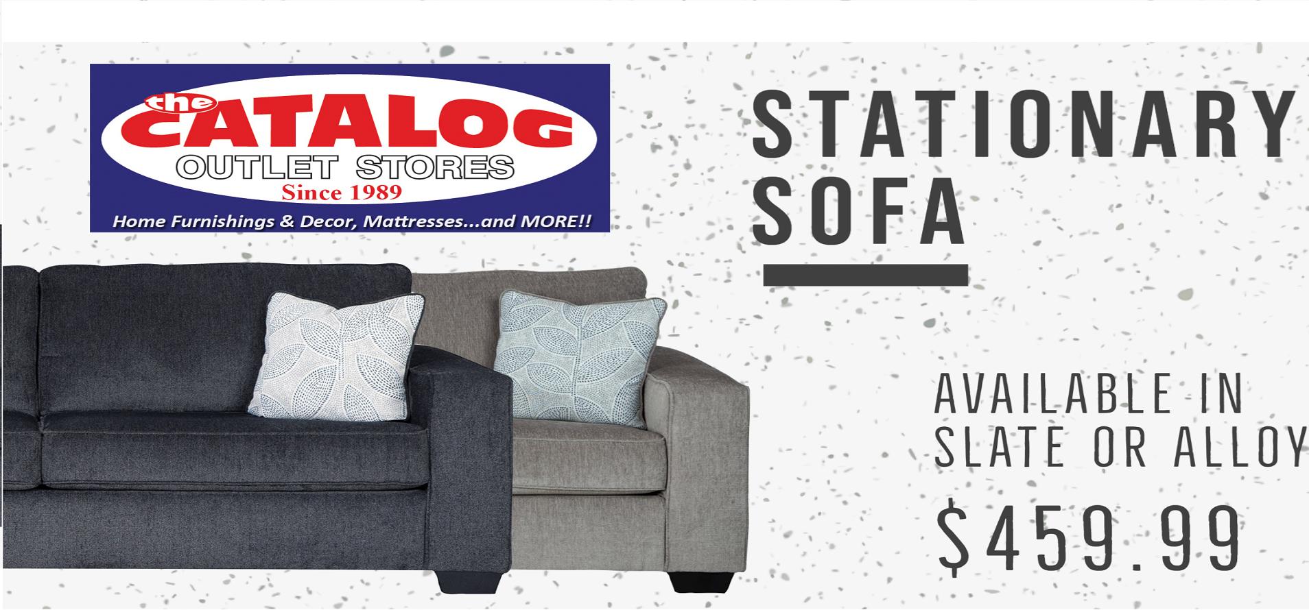 Stationary Sofa $459.99