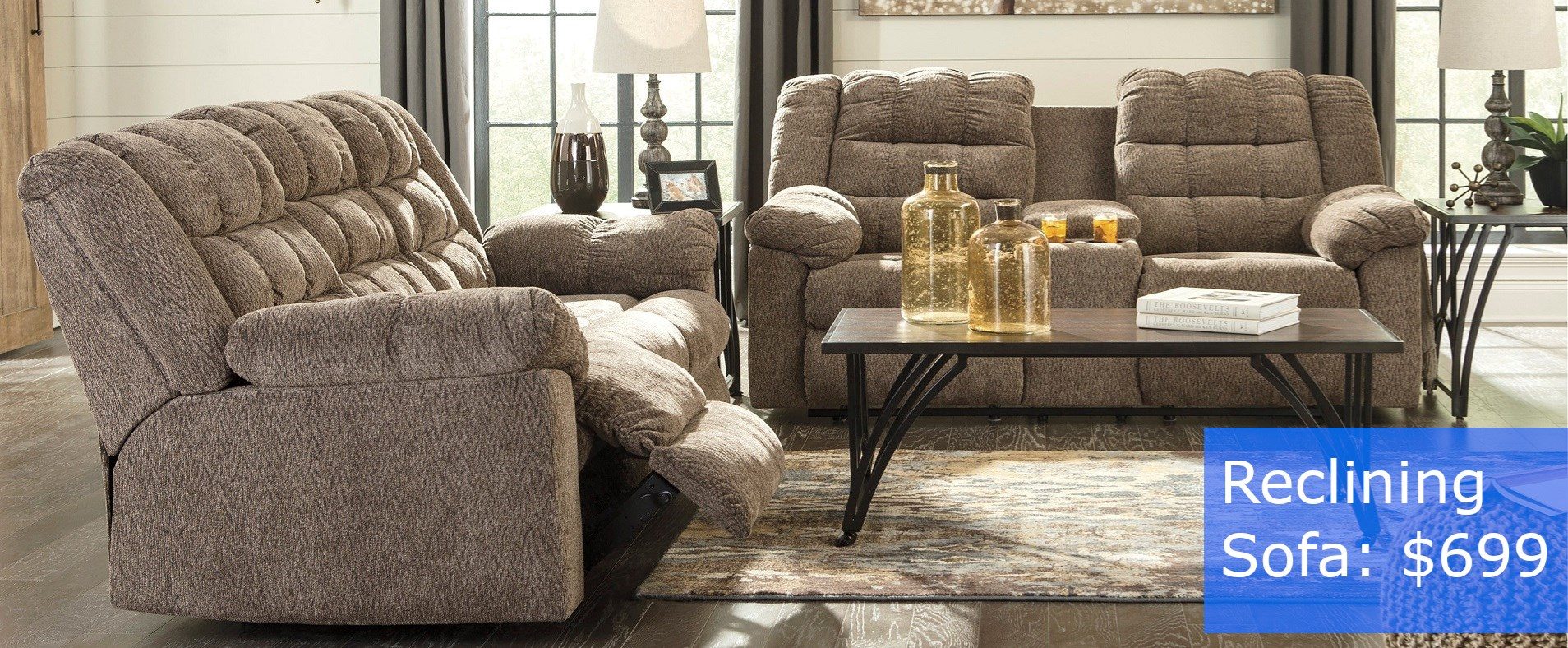Reclining Sofa WH