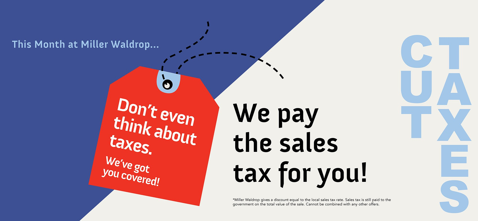 Tax break Banner