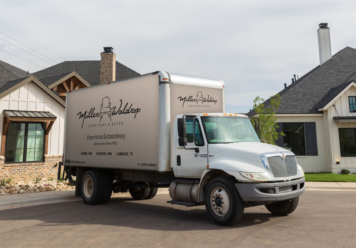 Delivery Truck from Miller Waldrop