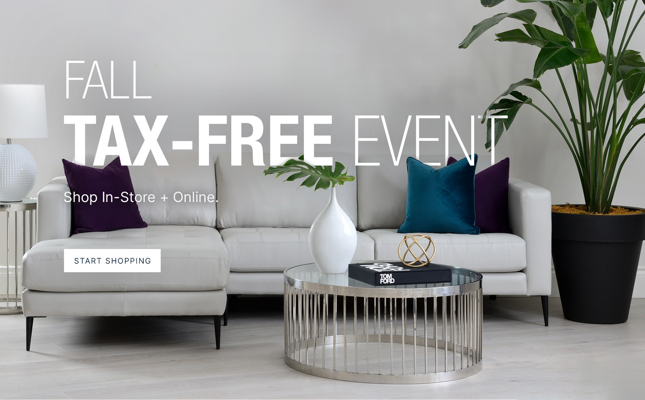 Fall Tax-Free Event! Shop in-store and online.