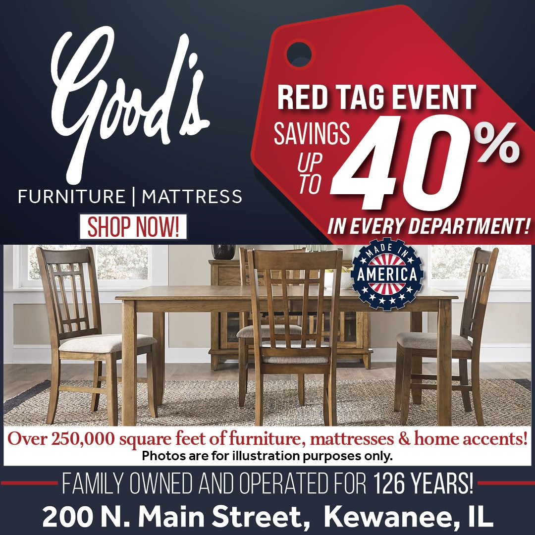 Dining sets up to 40% off