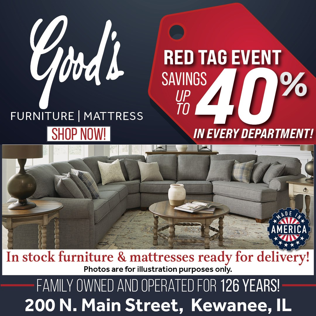 Sectionals up to 40% off