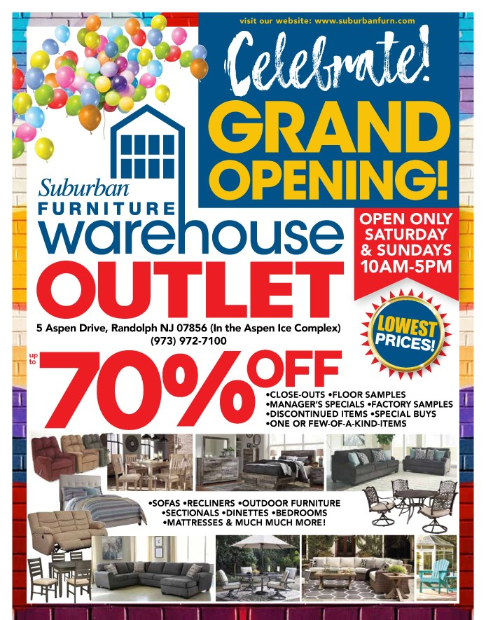 warehouse opening