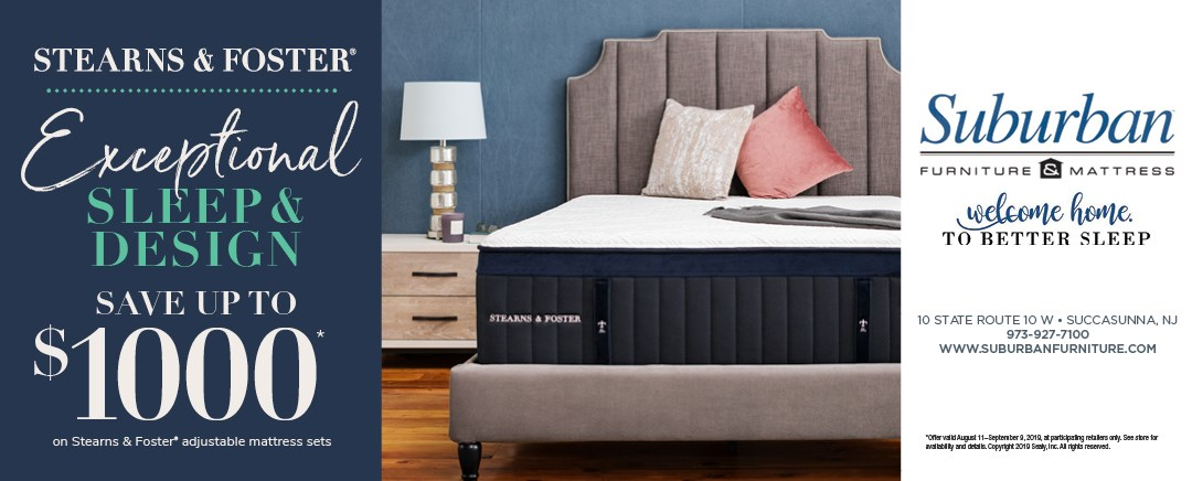 Save Up to $1000 on on Stearns & Foster adjustable base mattress sets