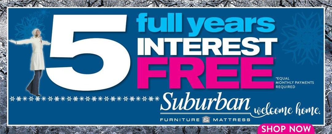 5 Years Interest Free