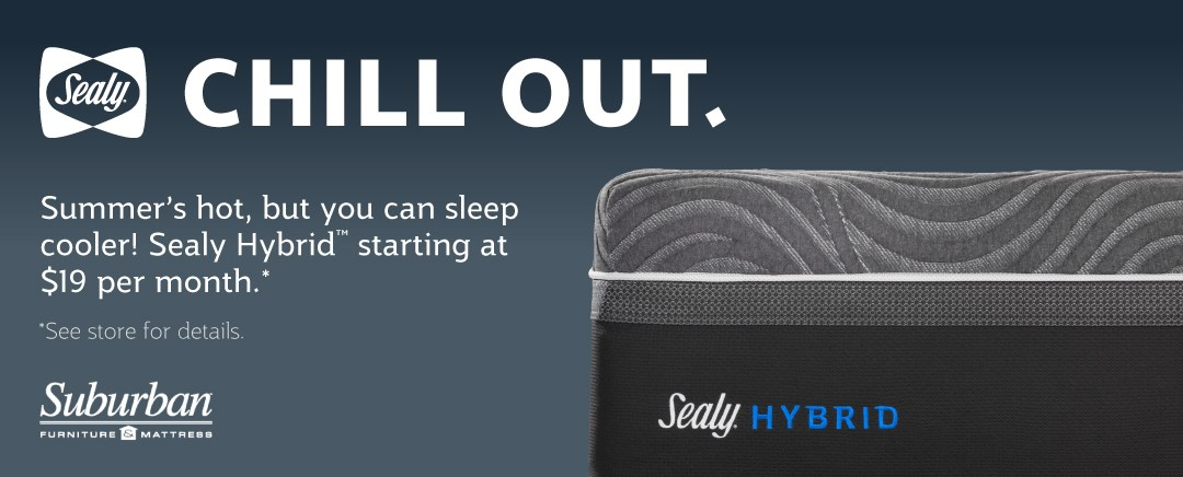 Shop Sealy Mattresses starting at $19 per month