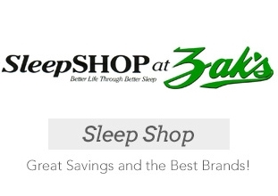 Sleep Shop at Zak's Fine Furniture