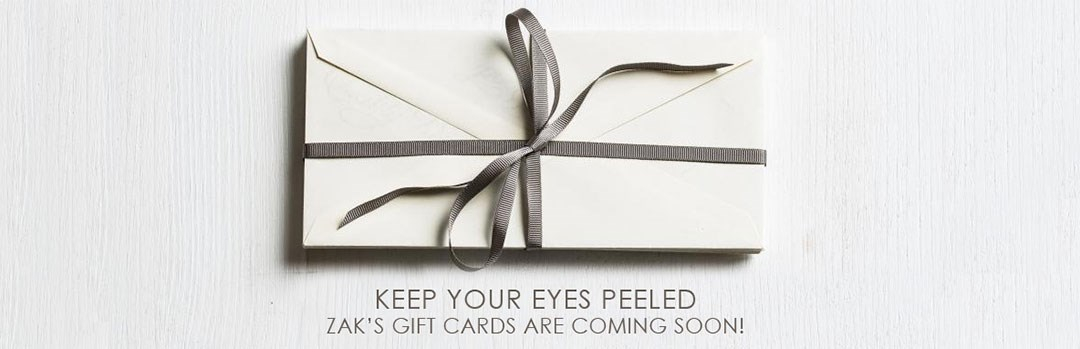 Zaks gift cards are coming soon
