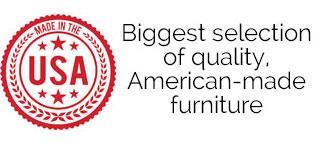 Large Selection of American-Made Furniture
