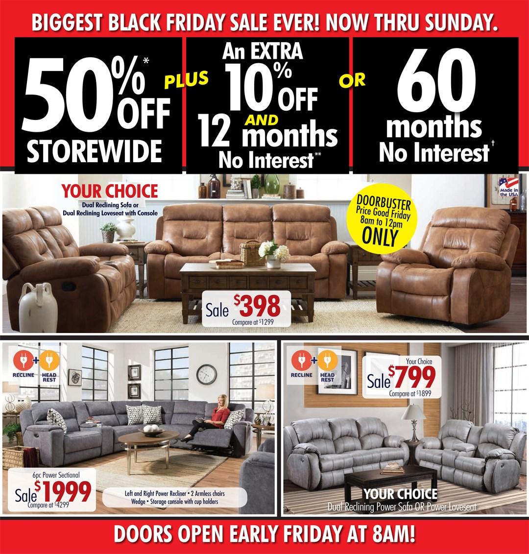 Black Friday Specials Powells Furniture And Mattress