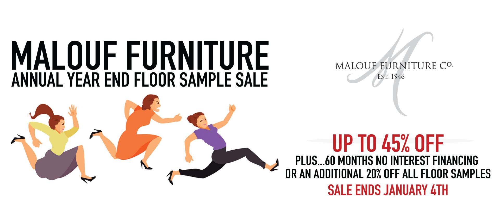 Malouf Year End Sale