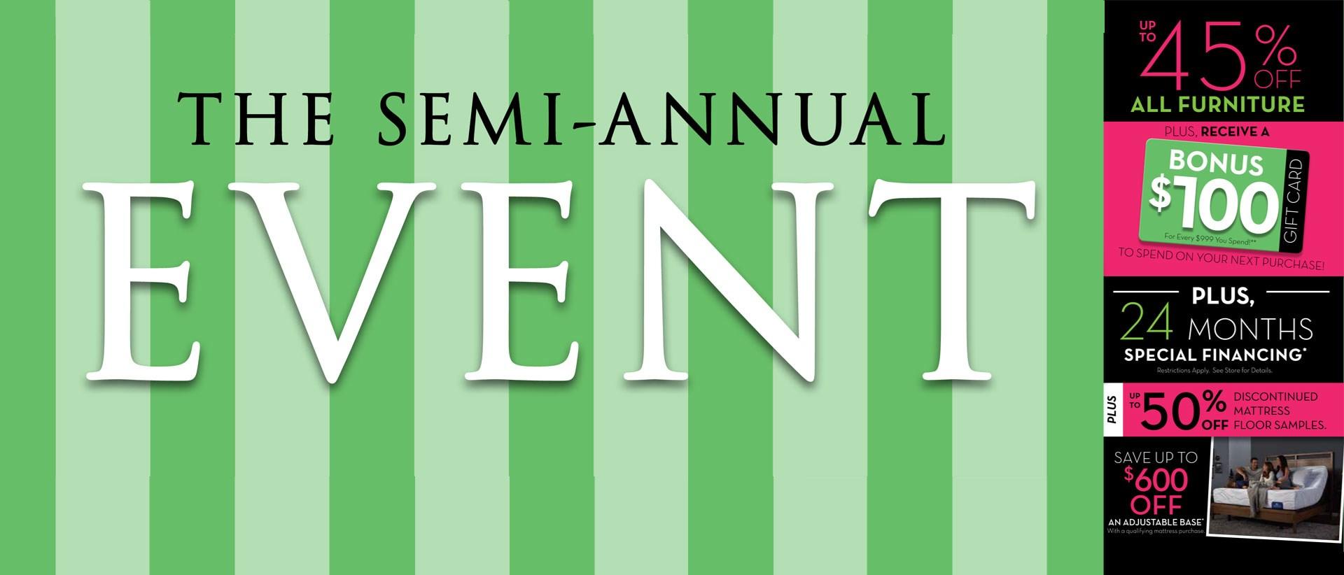 The Semi-Annual Event