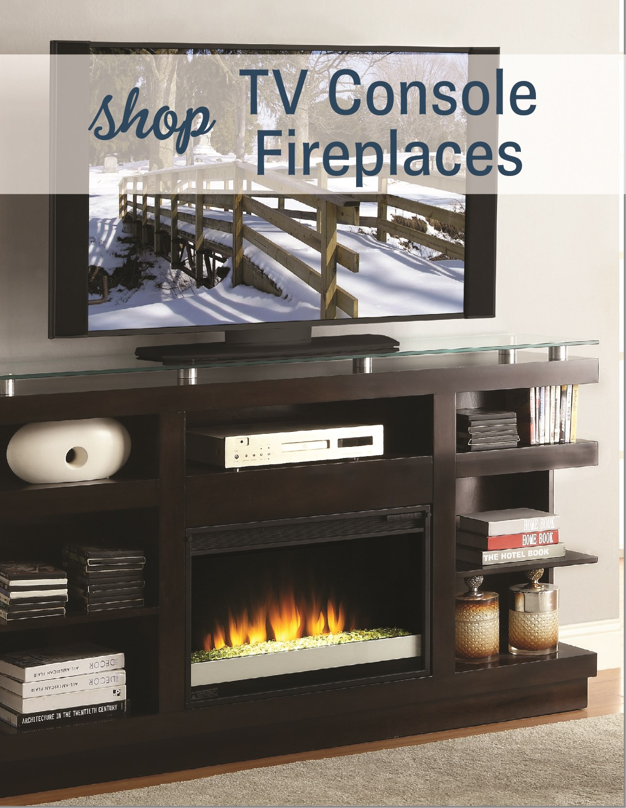Shop TV Console Fireplaces