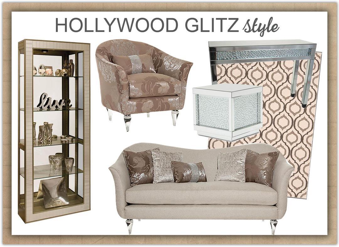 Contemporary Glitz Style ...