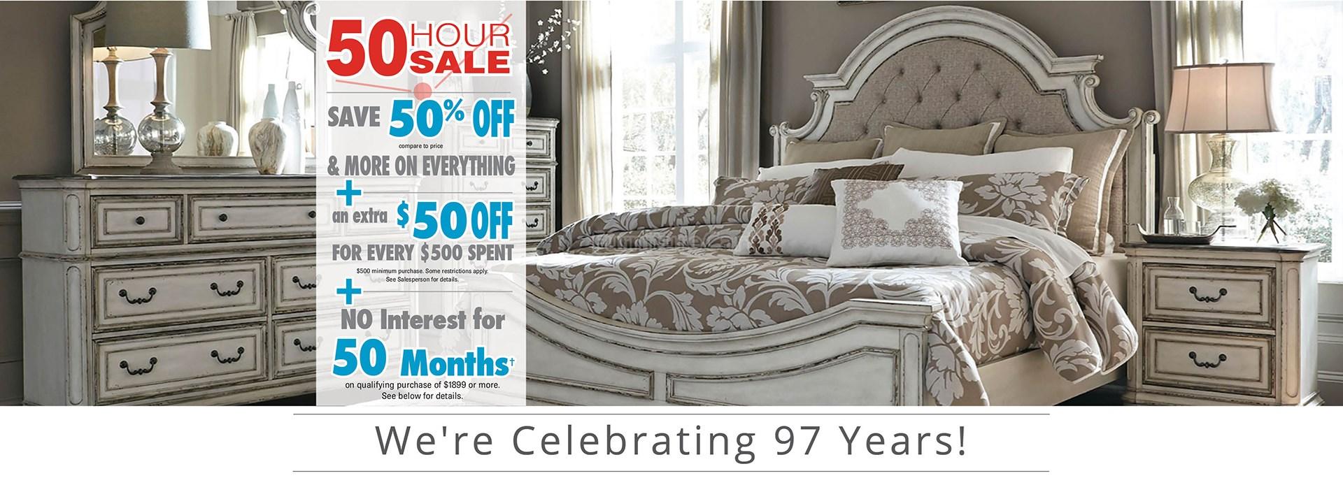 50-50-50 Sale