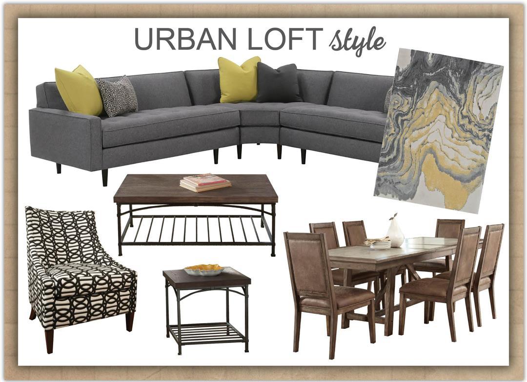 Genial Contemporary Glitz Style Loft Style ...