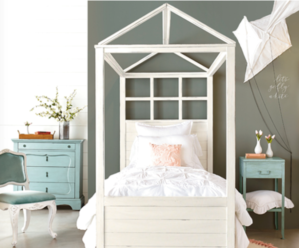 Joanna Gaines Magnolia Home Youth Boho Playhouse Canopy Bed & Magnolia Home Announces Kids Furniture | Darvin Furniture | Orland ... islam-shia.org