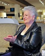 Mary Clarizio Applauds Drawing Winners