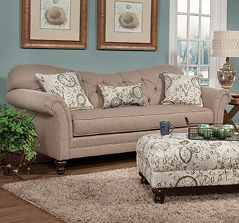 Clearance Stationary Sofa