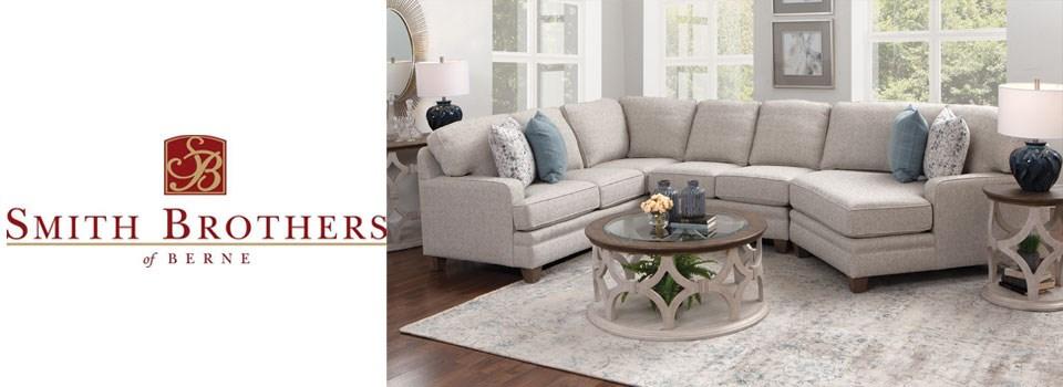 Smith Brothers Living Room Sofa