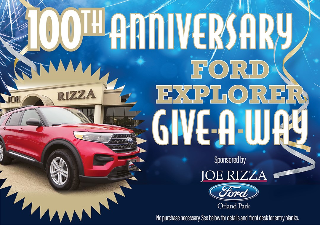 Darvin Furniture 100th Anniversary      Ford Explorer Giveaway