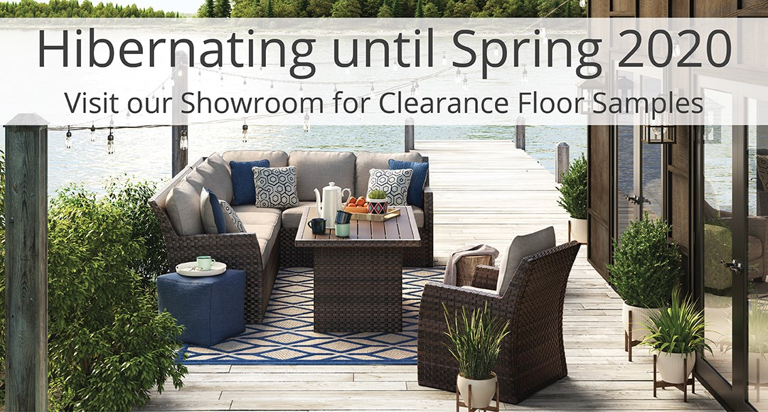 See us in the Spring for Outdoor Furniture