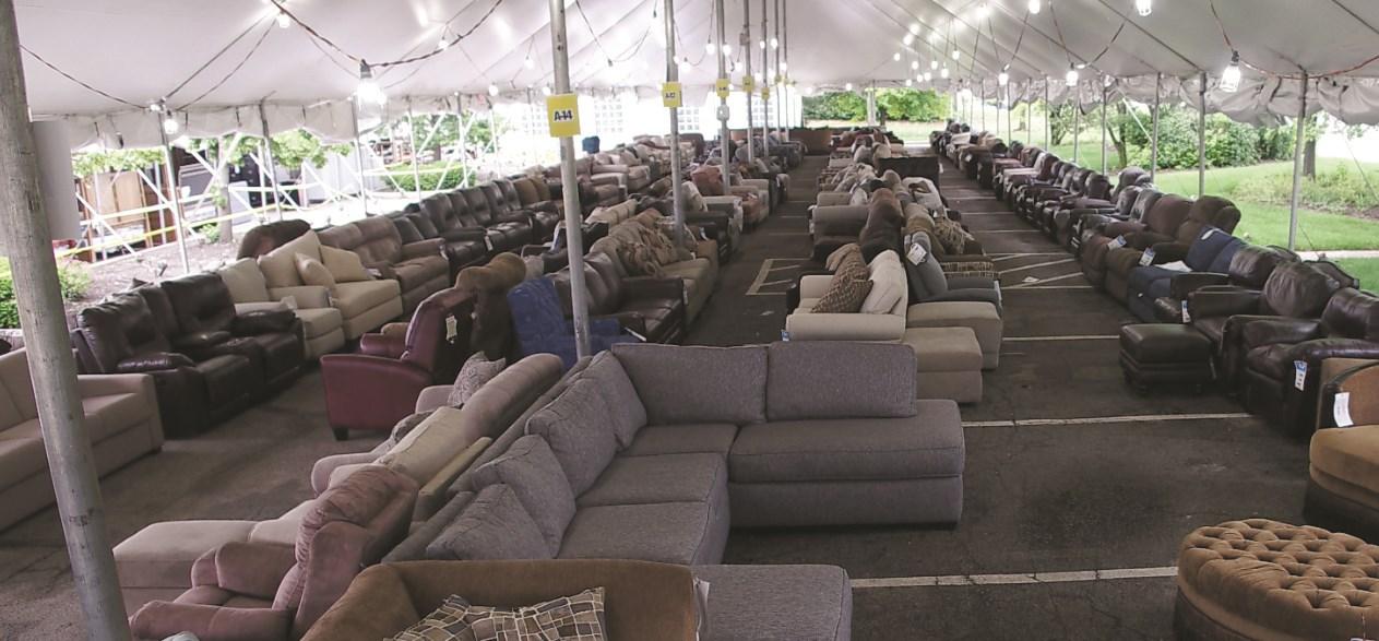 Annual Tent Sale Darvin Furniture