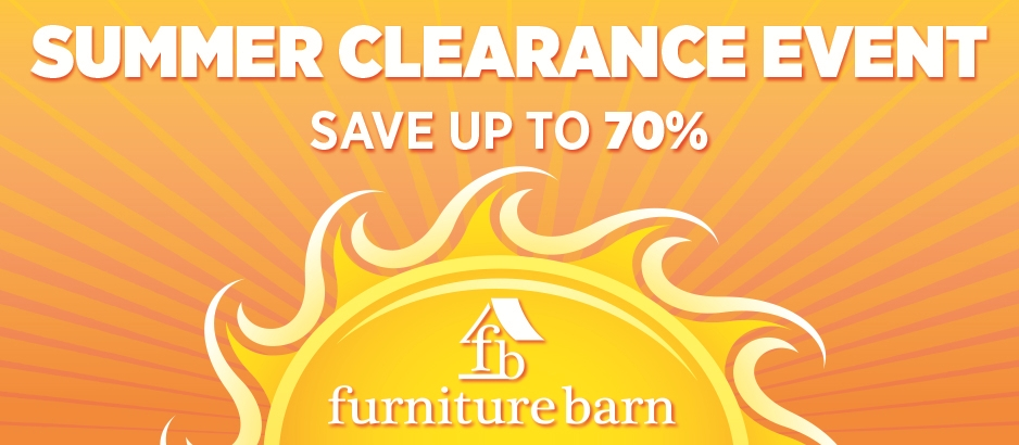 Awesome Summer Floor Sample Clearance Event