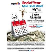 End Of Year Sale Final Days Web Ad
