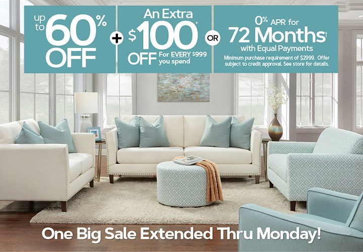 One Big Sale Extended Thru Monday Offer