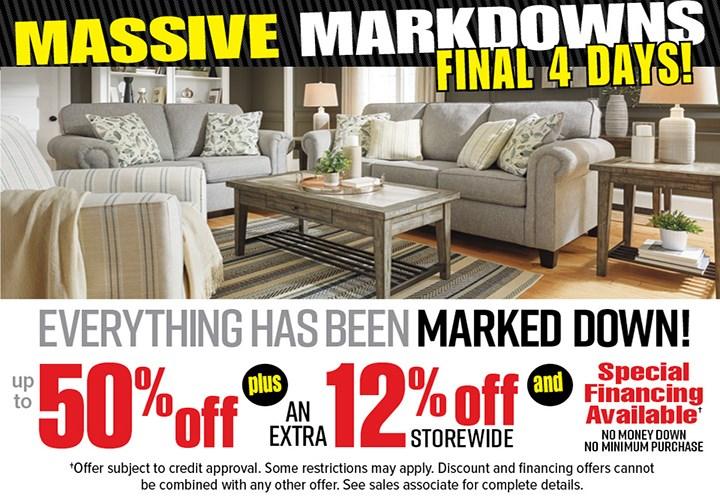 Massive Markdowns