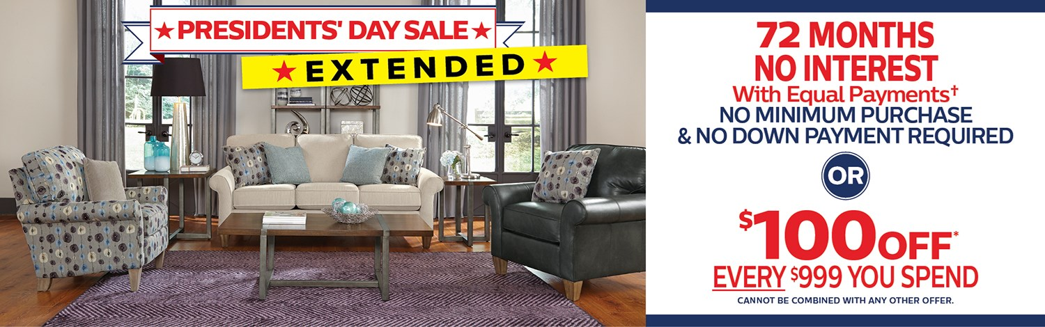 Presidents' Day Sale Extended!