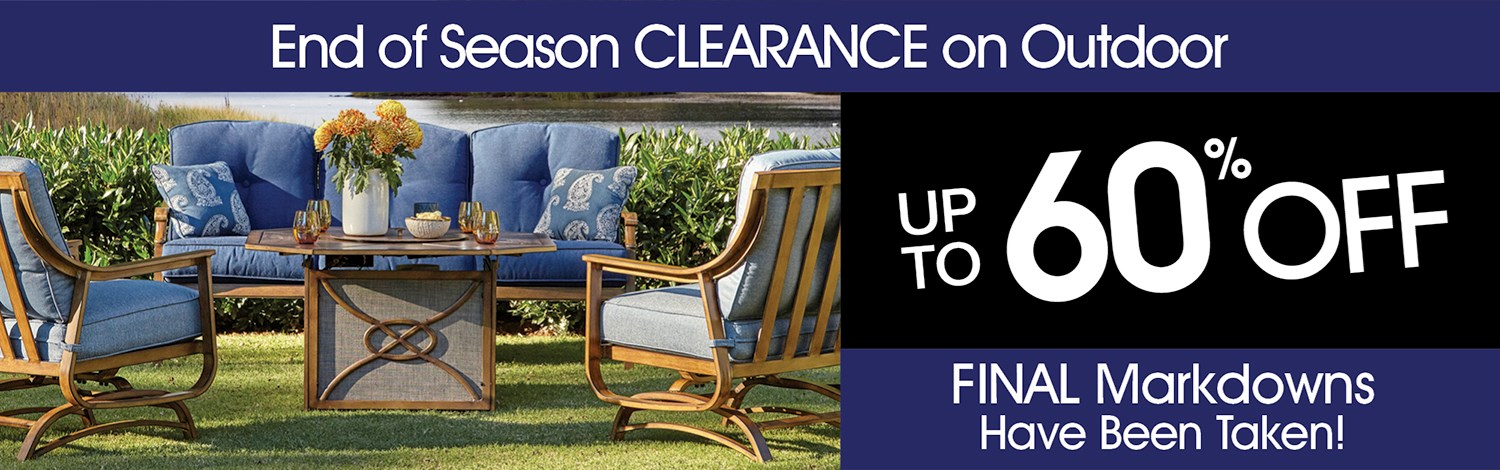 End of Season Outdoor Clearance