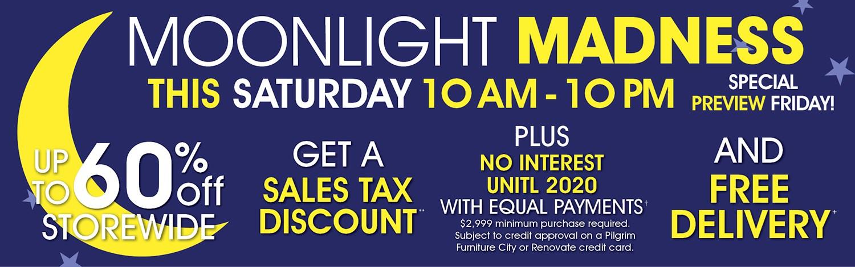 Moonlight Madness Sale!