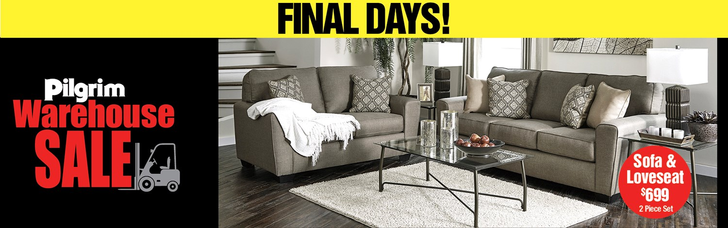 Biggest Warehouse Sale Ever Final Days!