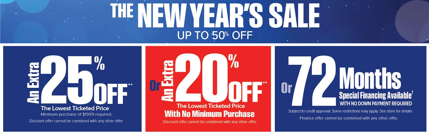 Exceptional New Yearu0027s Sale Going On ...