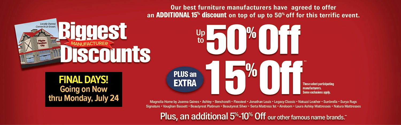 Biggest Discount Sale Final Days!