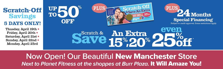 Scratch Off Savings!