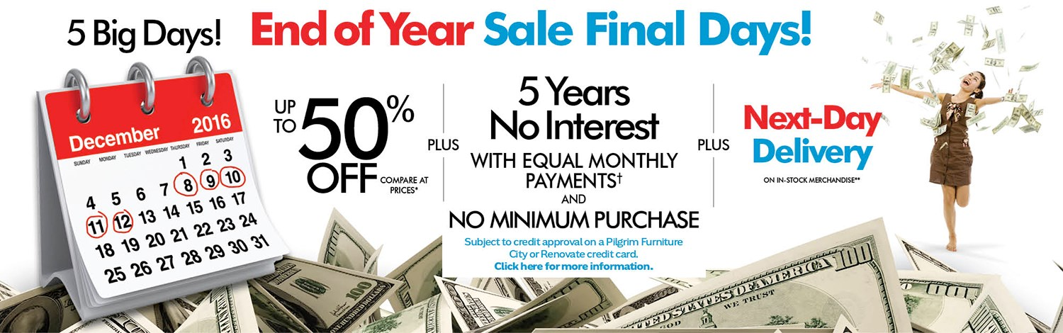 End Of Year Sale Final Days