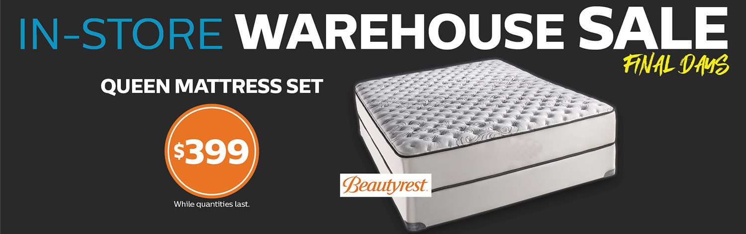 In-Store Warehouse Sale Final Days