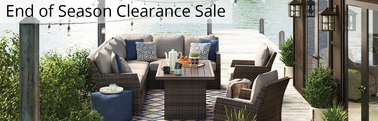 Shop Outdoor Patio Furniture | End Of Season Clearance Sale