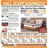 Serta mattress, Visby Lake, Gel memory foam, Cambridge State Street mattress, Serta Perfect Sleeper