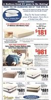 mattresses, Serta, Serta mattress, White Dove mattress, adjustable mattress base, Queen mattress, king mattress, full mattress, twin mattress, memory foam mattress, Serta power adjustable base, Serta Perfect Sleeper, iComfort mattress, tempurpedic mattress