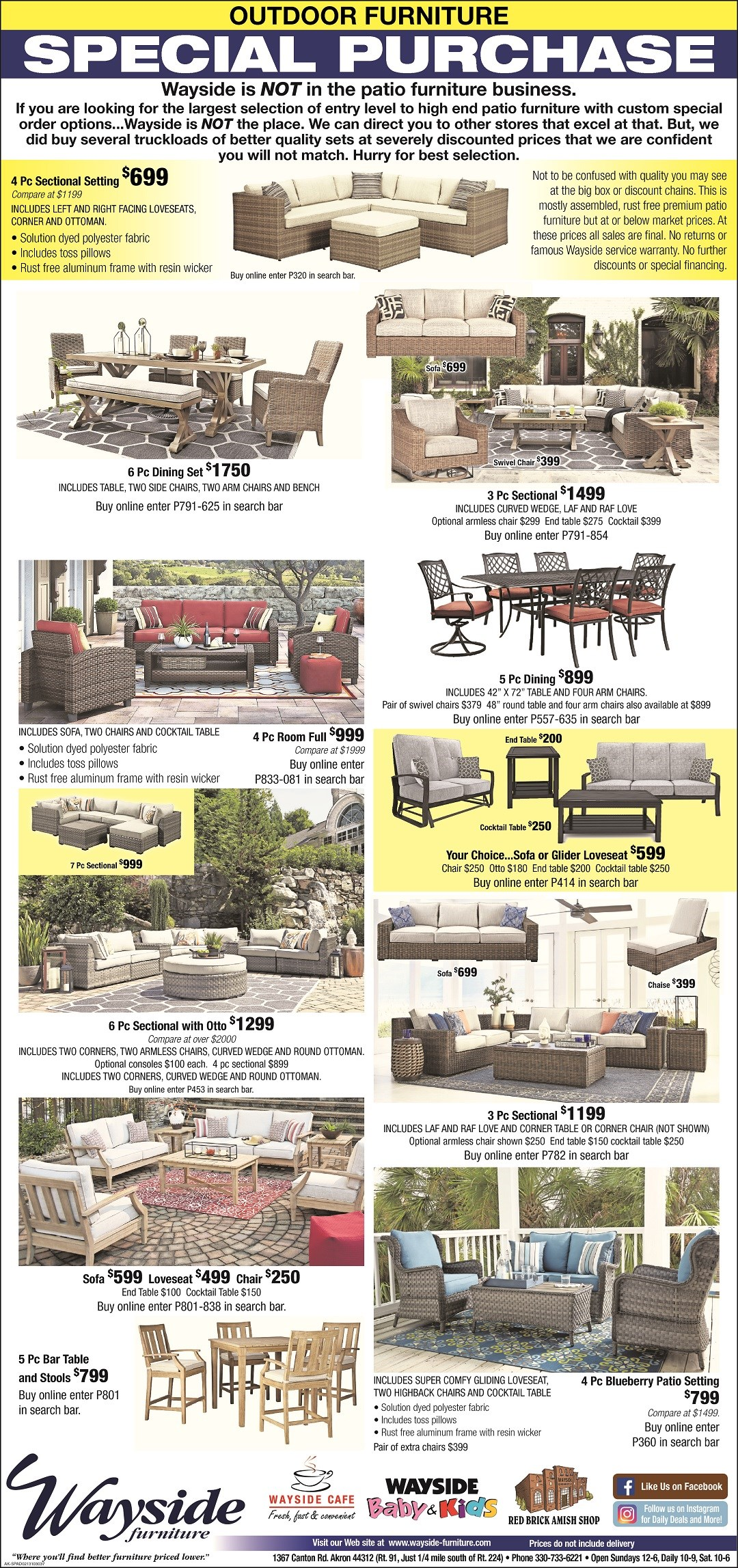 Patio furniture, outdoor furniture, Ashley outdoor furniture,