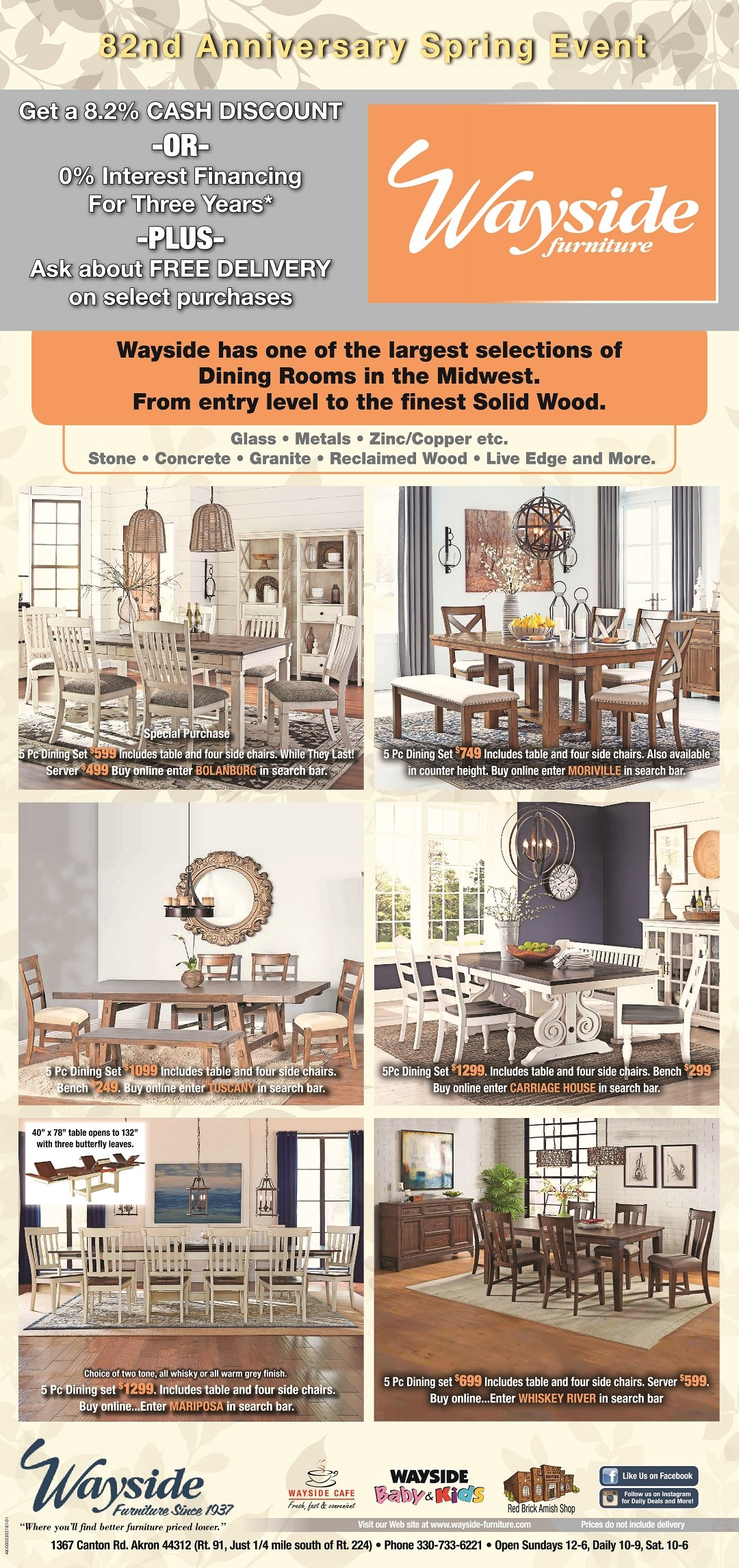 dining table and chairs, dinettes, stools