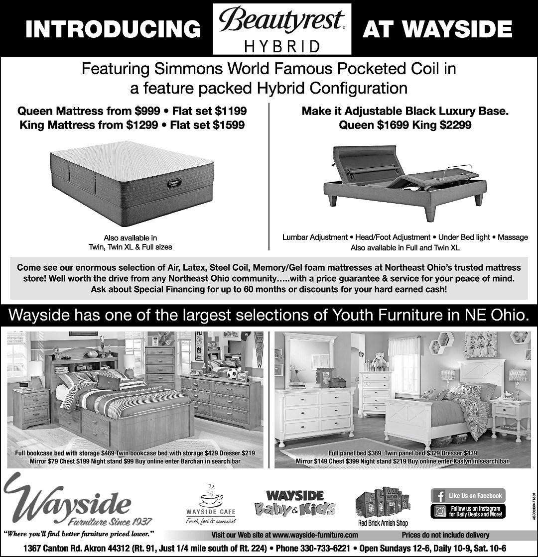 Simmons Beautyrest Hybrid mattress, adjustable base, youth bedroom furniture, youth bed, kids bed, boys bedroom set, girls bedroom set