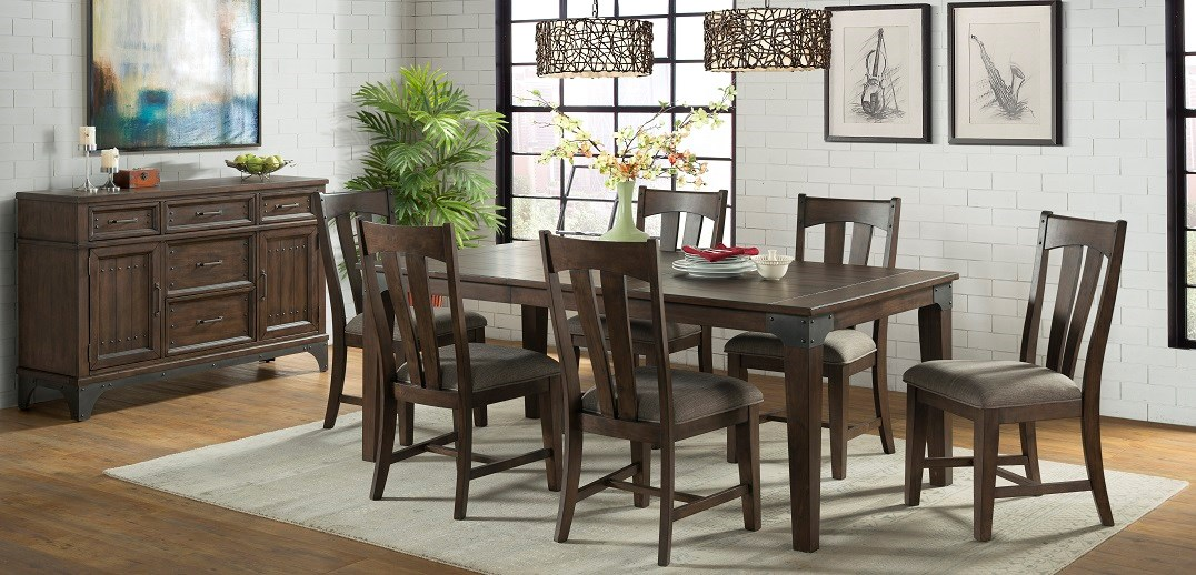 dining room, whiskey river collection, Intercon