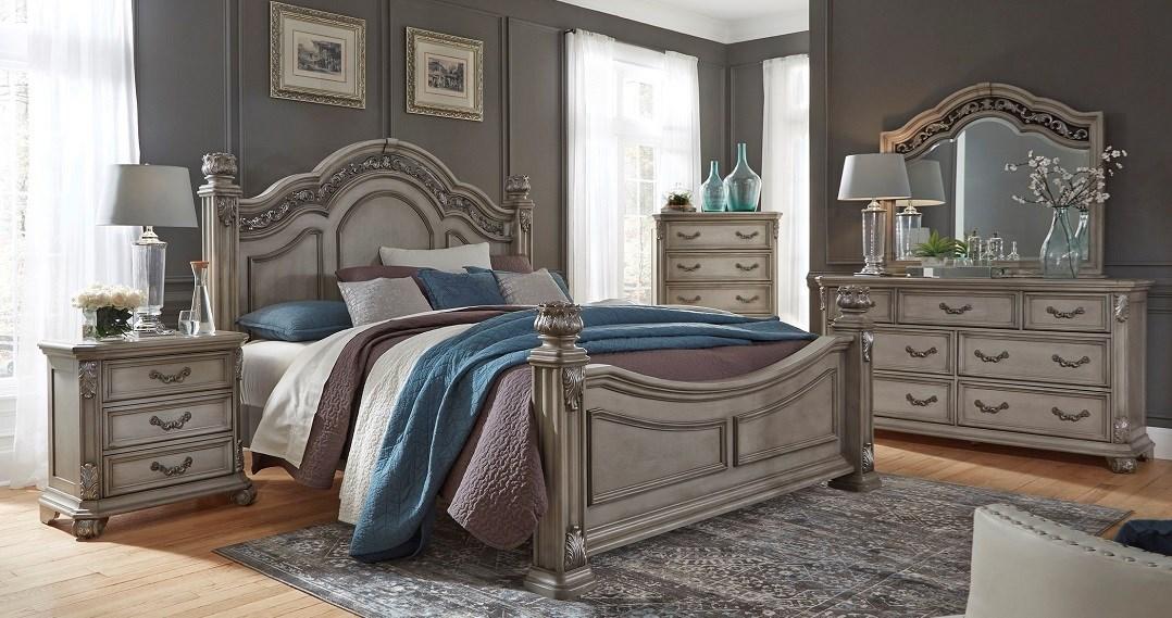 bedroom set, Liberty furniture, Messina Estates collection