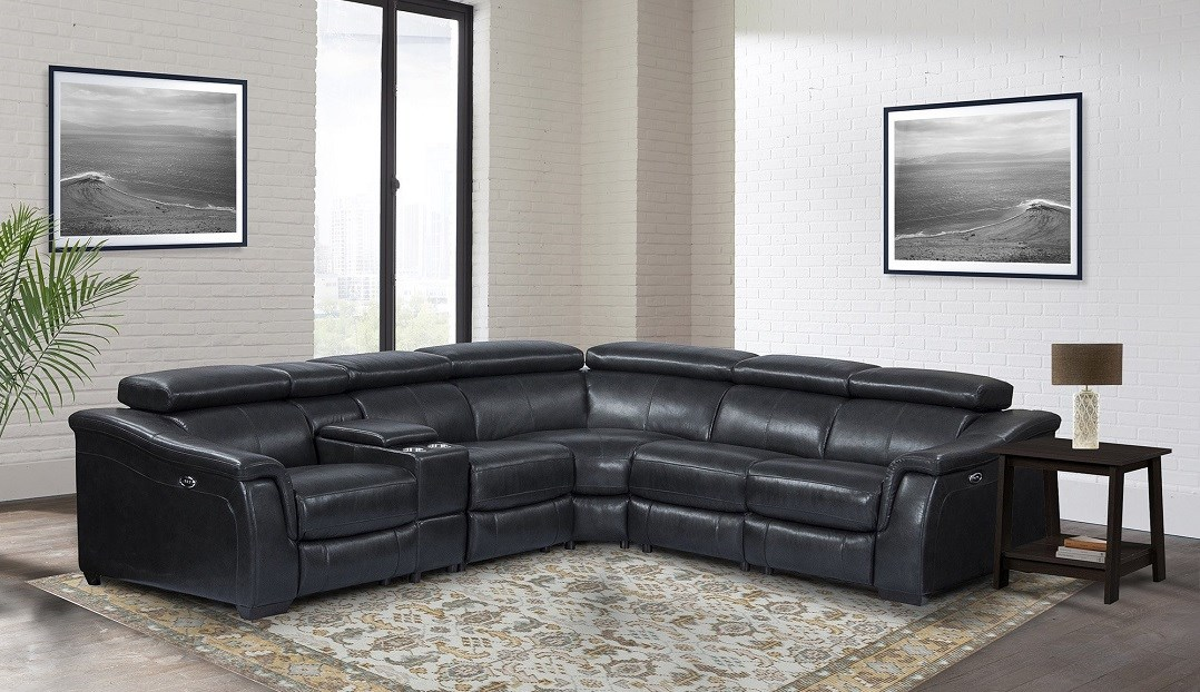 Parker Living Newton modular sectional in cyclone